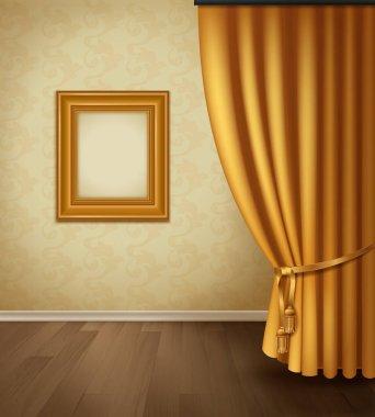 Classical Curtain Interior