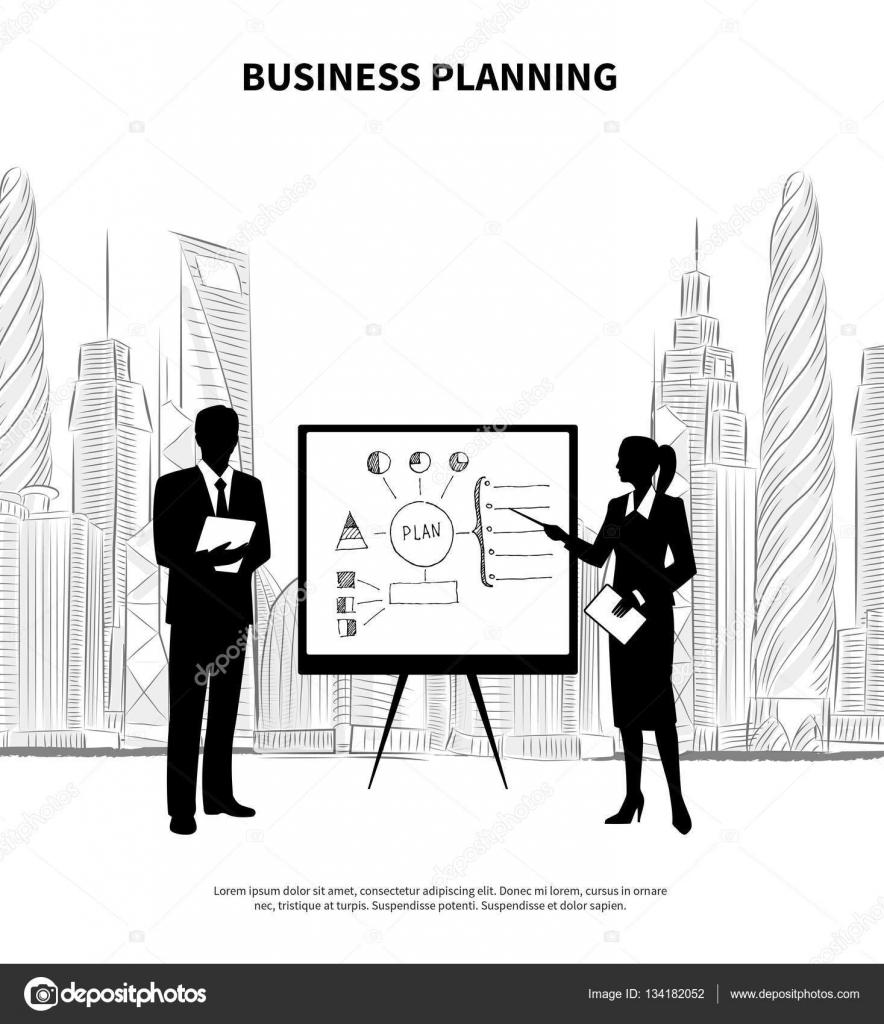 presentatie ondernemingsplan ondernemingsplan — Stockvector © macrovector #134182052 presentatie ondernemingsplan
