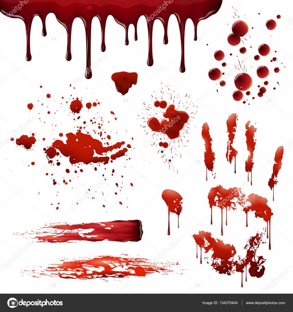 Sang projections r alistes de tache de sang mod les set image vectorielle macrovector 134370404 - Tache de sang sur vetement ...