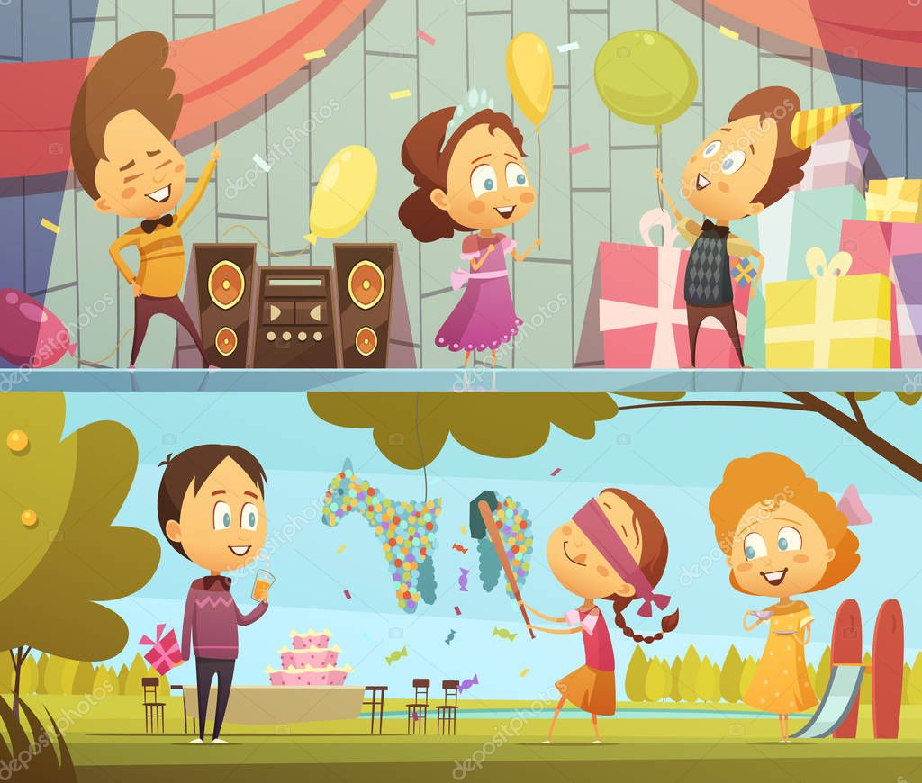 Kids Party Banners