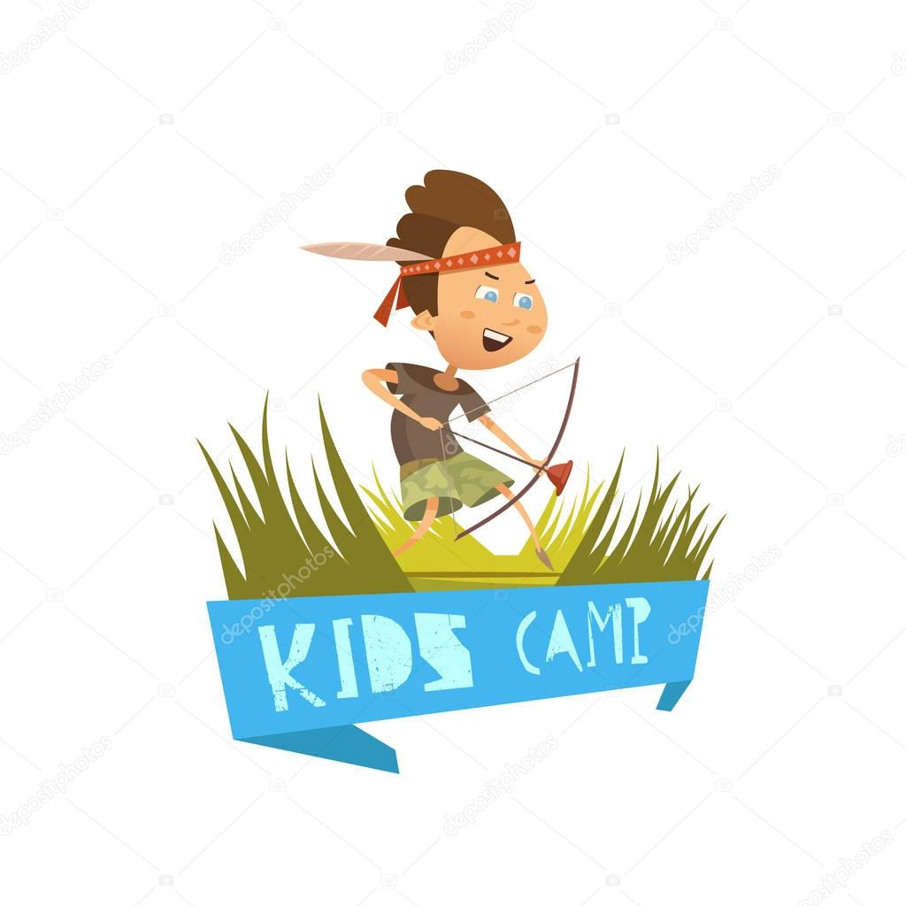 Kids Camp Concept