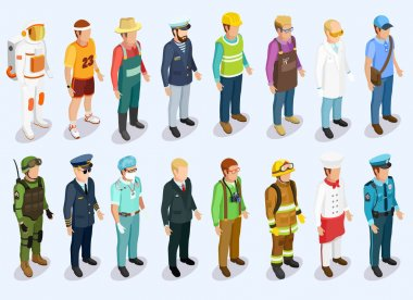 Person Isometric Collection