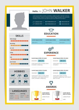 Job Candidate Resume Template