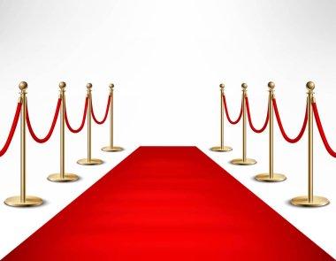 Red Carpet Celebrities Formal Event Banner