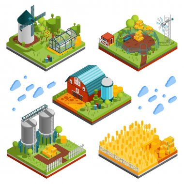 Rural Farm Landscape Elements