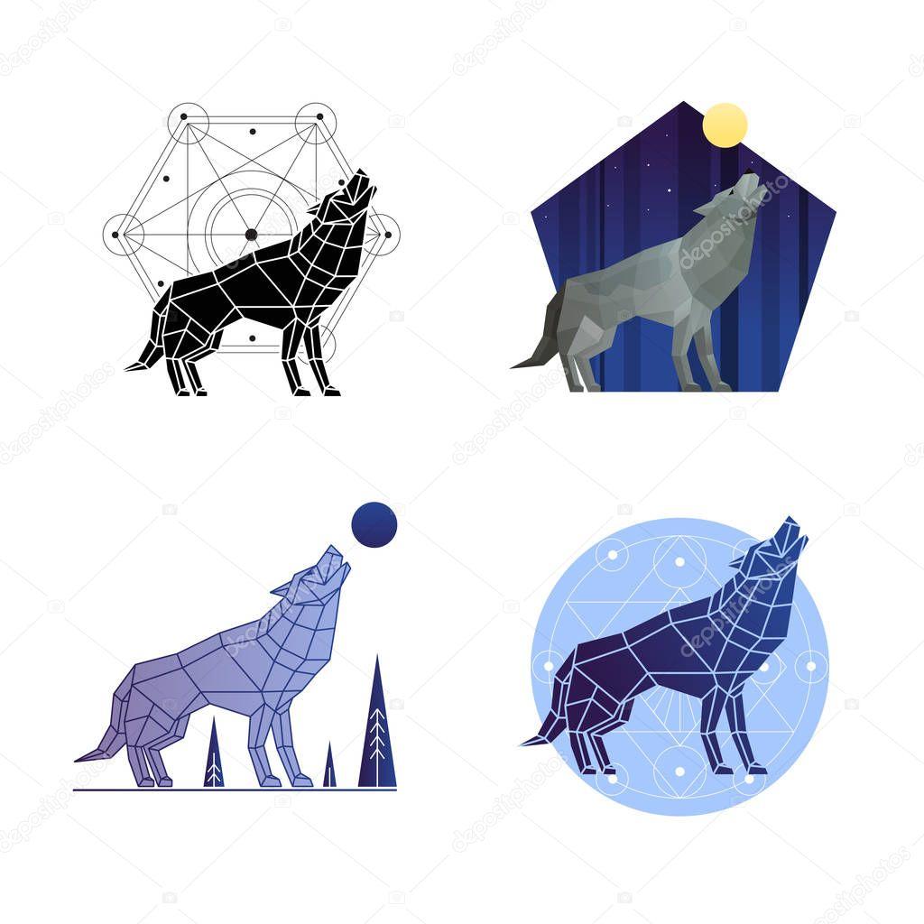 Howling Wolf Set