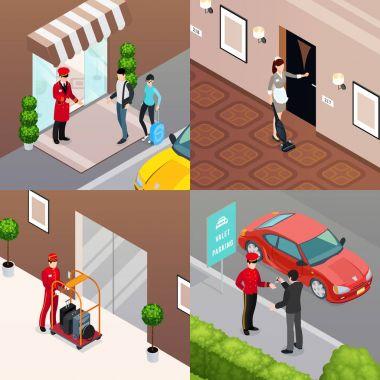 Hotel Service 2x2 Design Concept