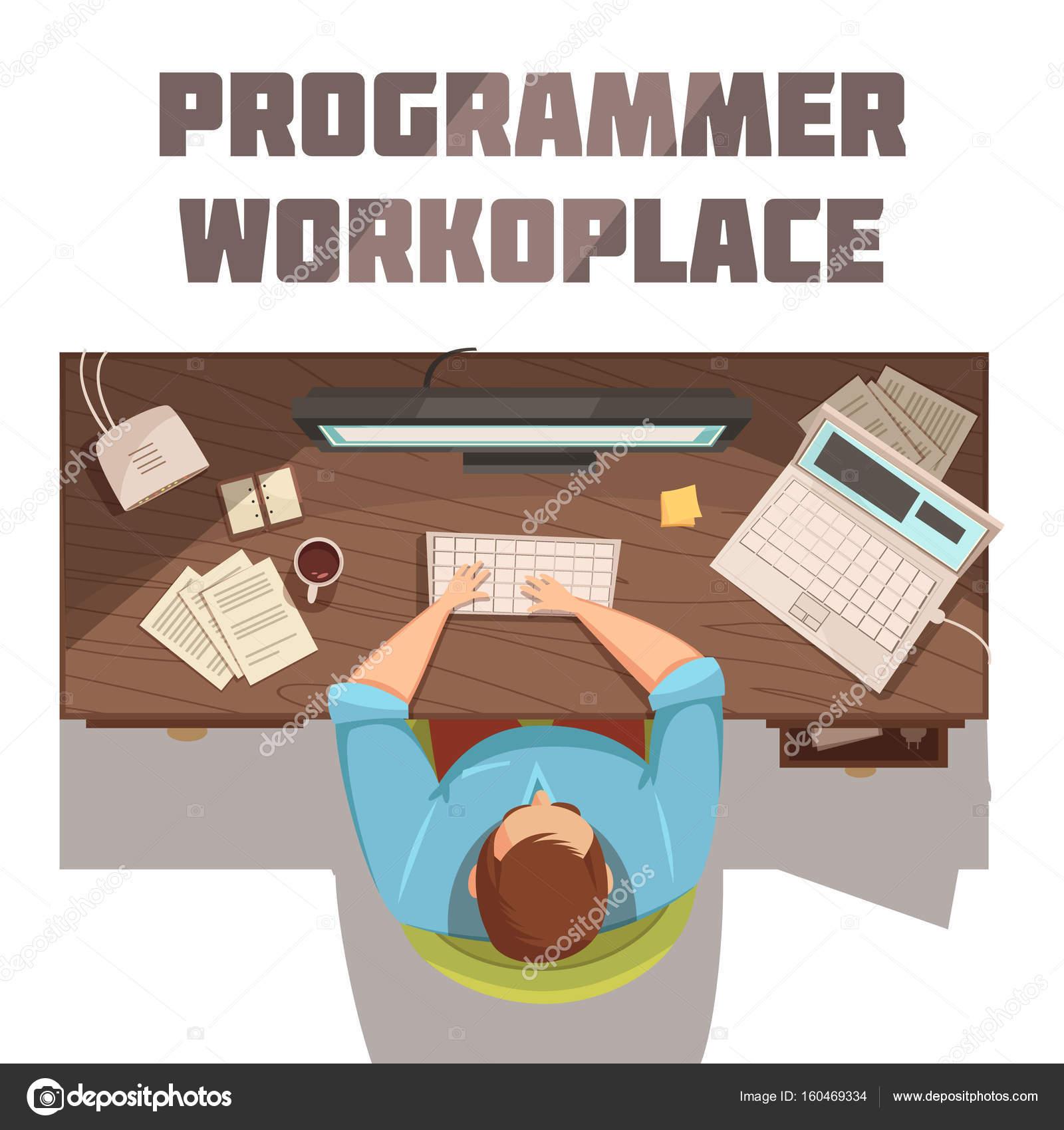 фото программиста на рабочем месте