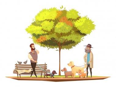 Dog Concept Illustration