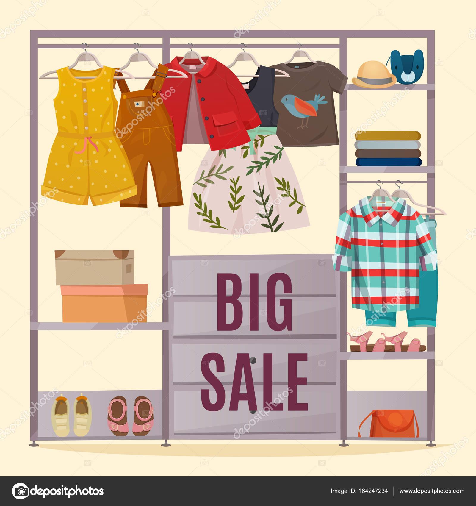 Poster De Guarda Roupa Colorido Vetores De Stock Macrovector  ~ Posters Para Imprimir Quarto E Guarda Roupa Para Quarto