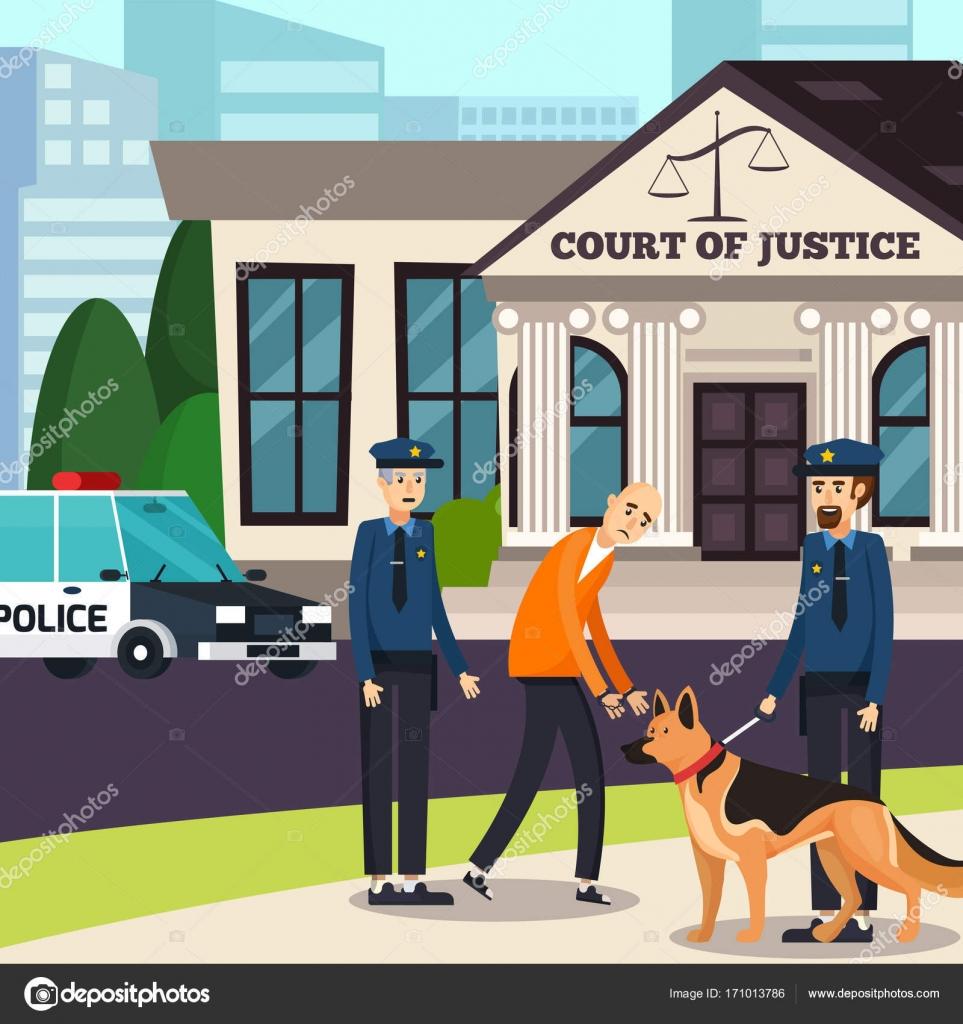 Policjant Z Psem Grafika Kolorowanka Policja Stockowe Wektory I Ilustracje Depositphotos