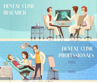 Dental Clinic Horizontal Banners