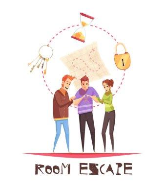 Room Escape Design Concept