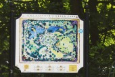 St Stephens Green Park Panel v centru Dublinu