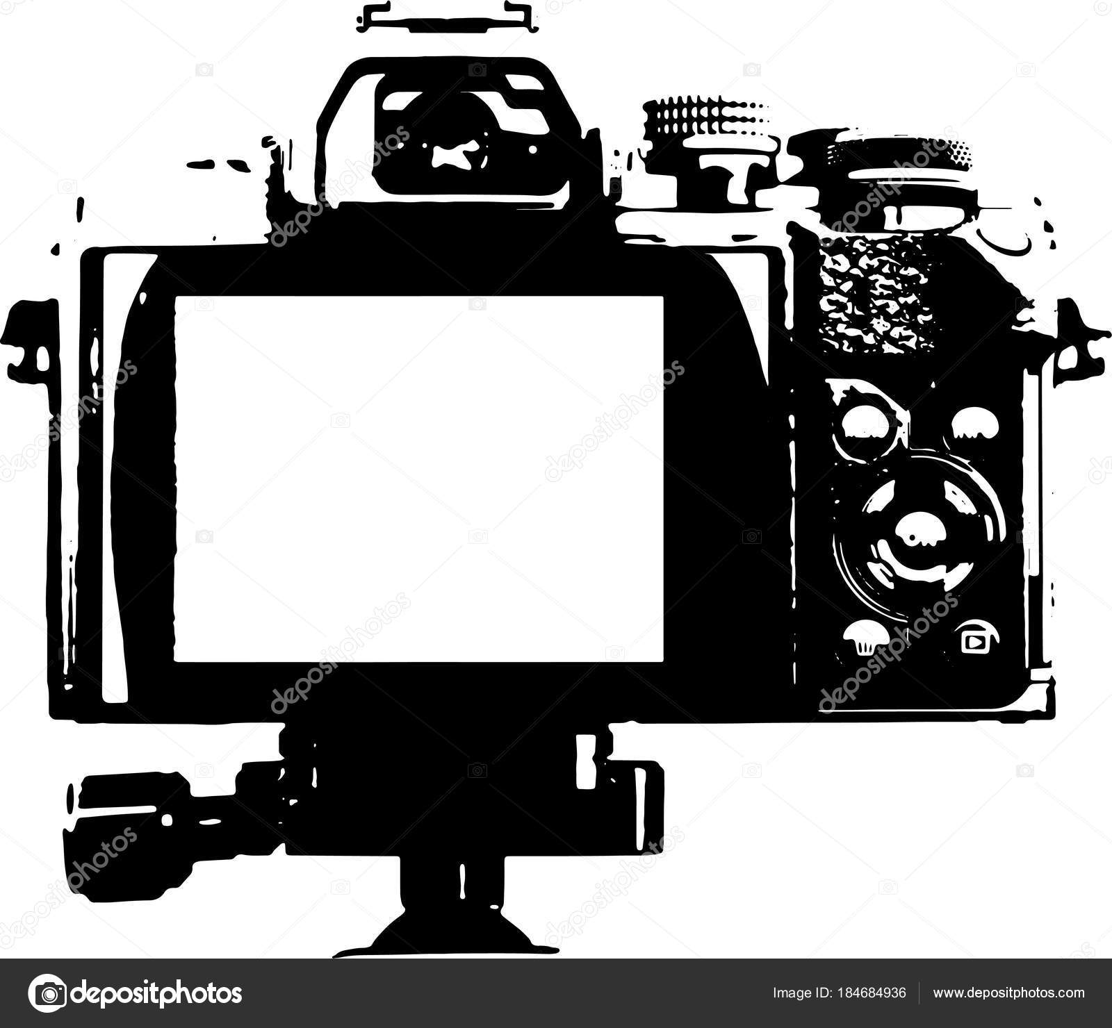 カメラ イラスト裏 ストック写真 Sandrafotodesign 184684936
