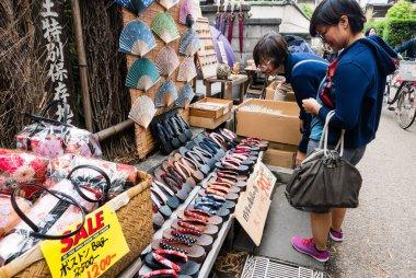 Souvenir shop near Bamboo forest of Arashiyama