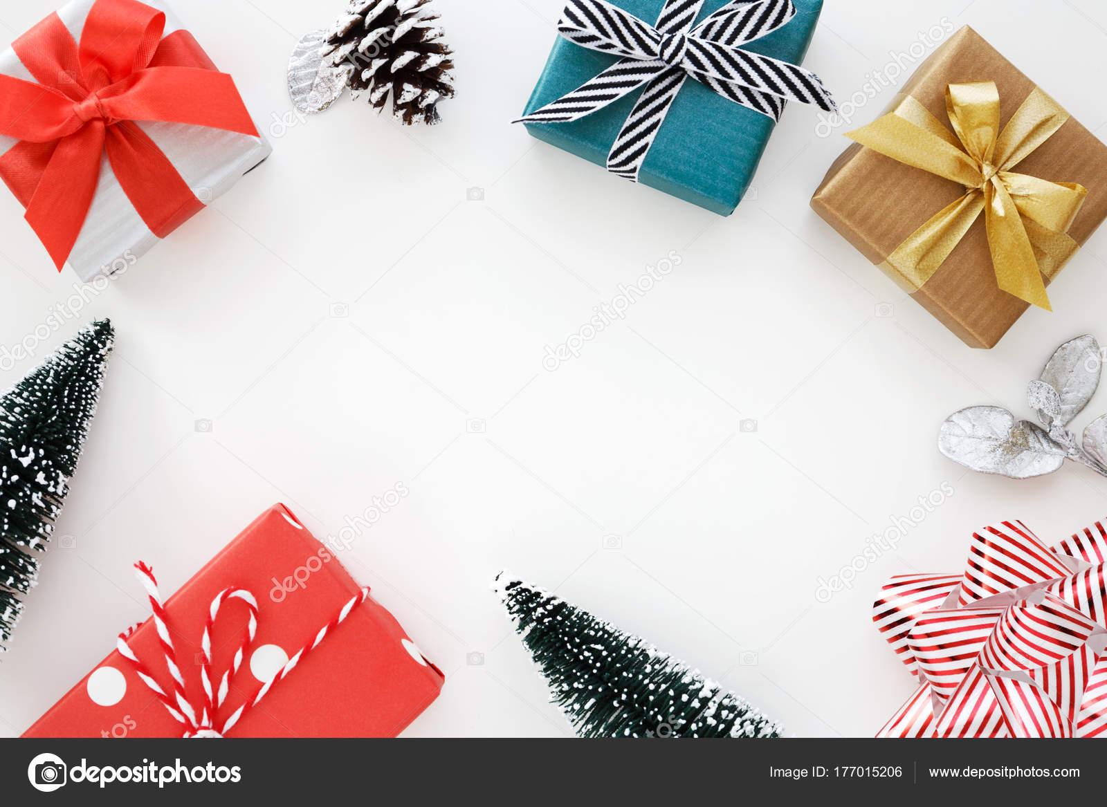Christmas Gift Box Background Stock Photo C Myshot 177015206