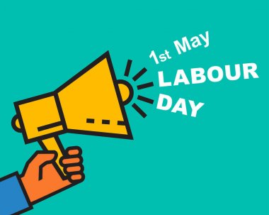 Labour Day greeting card