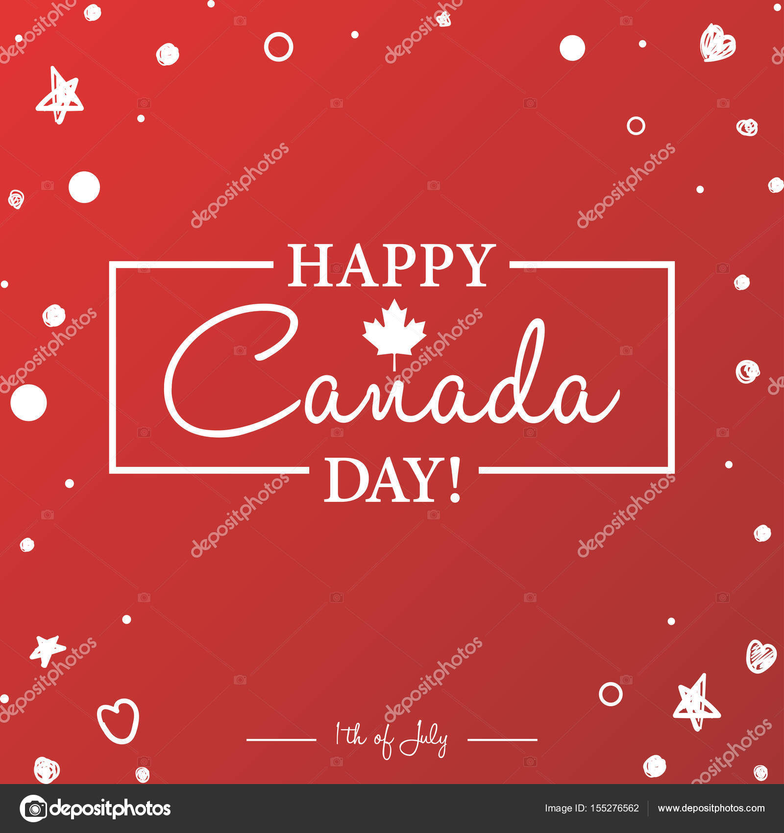 Happy canada day greeting card stock vector galastudio 155276562 happy canada day greeting card stock vector m4hsunfo
