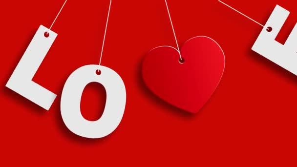 Herz Valentinstag Hintergrund oder Karte.