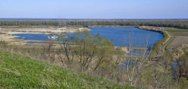 Location - Russia, Krasnodar Territory, Ust-Labinsky district. Amazing natural places rich in historical past. Hiking.