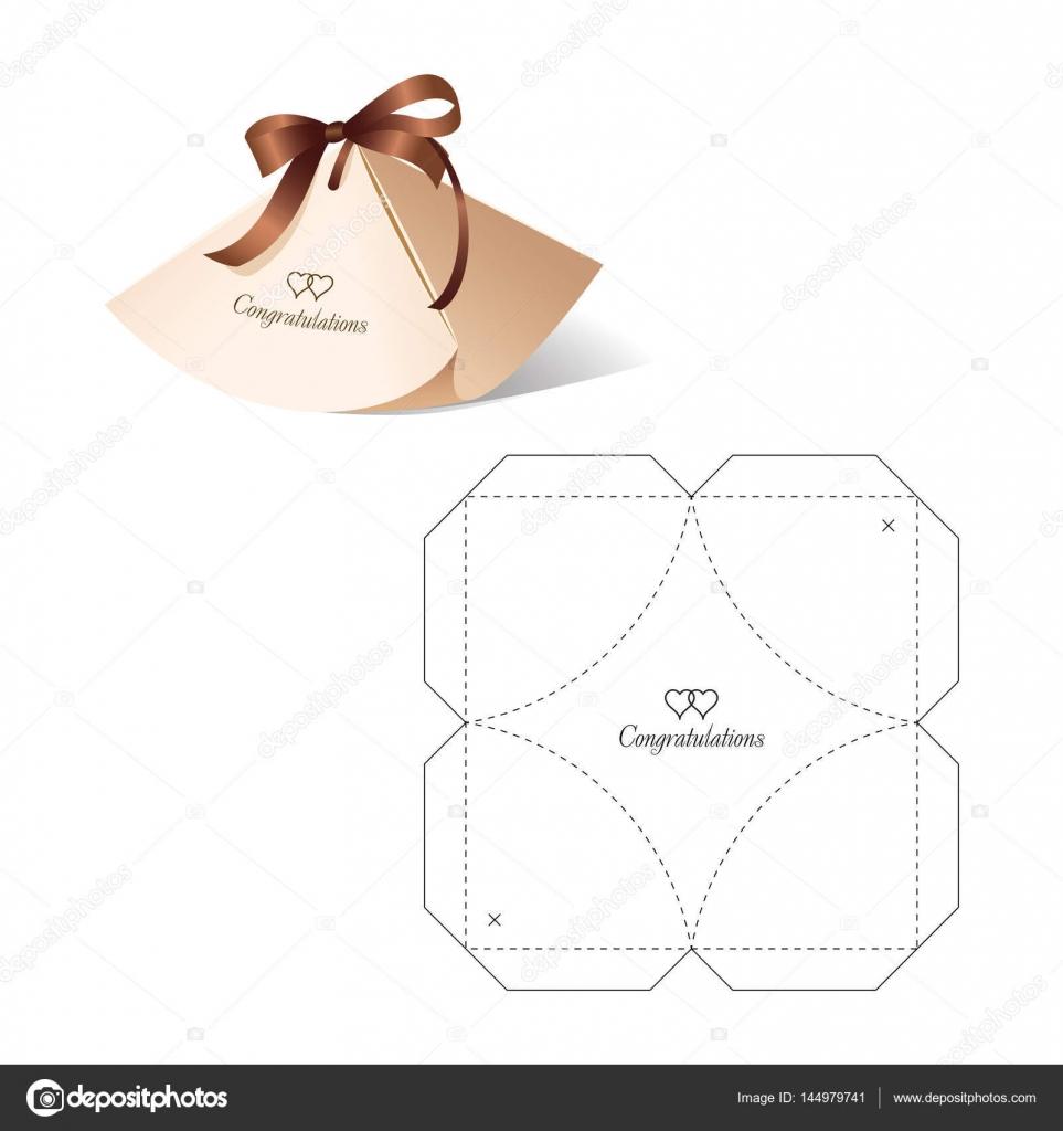 Caja por menor con la plantilla de blueprint vector de stock caja de corte tintas paquete plantilla pantalla regalo diseo diseo patrn vector de philka malvernweather Images