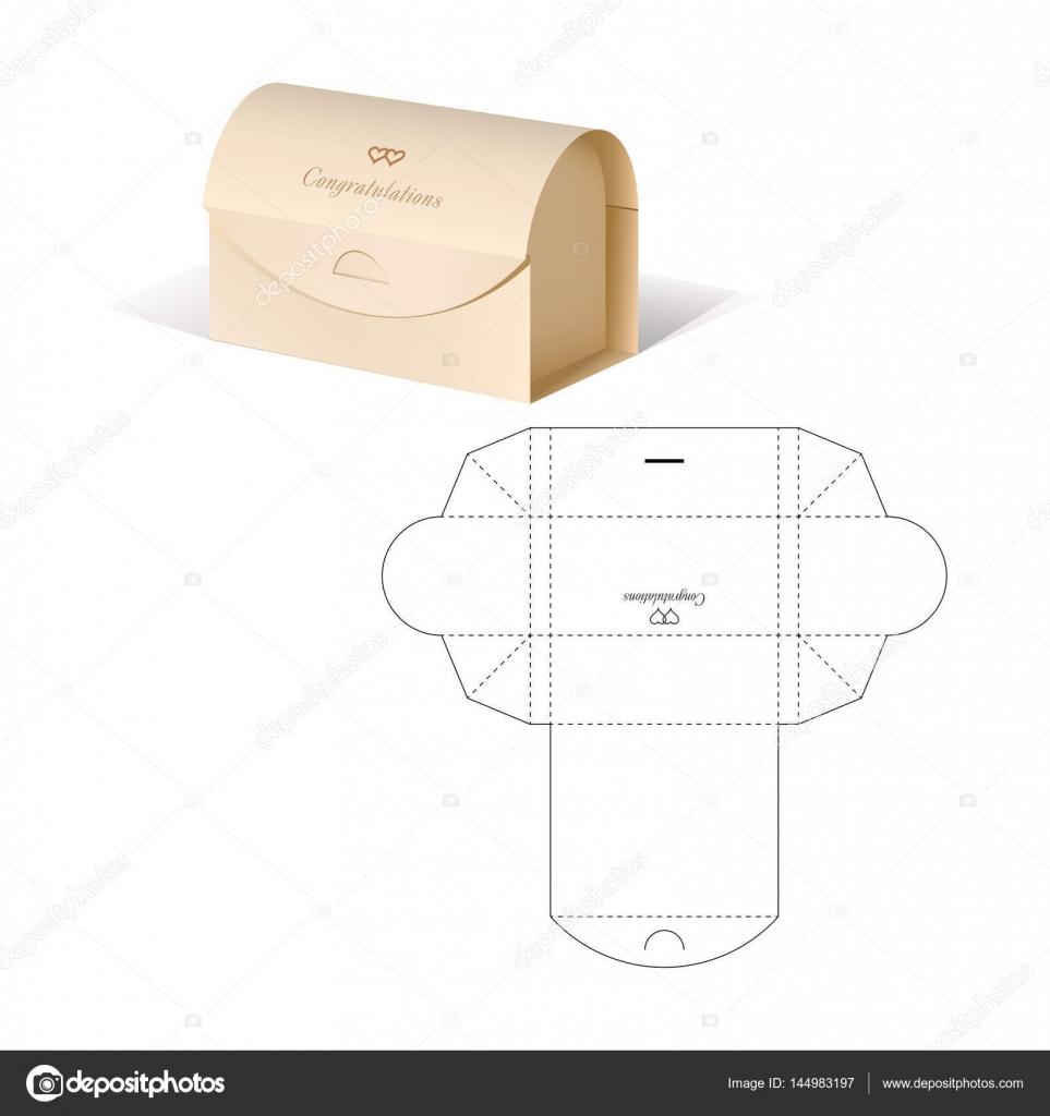 Retail-Box mit Blueprint Vorlage — Stockvektor © Philka #144983197