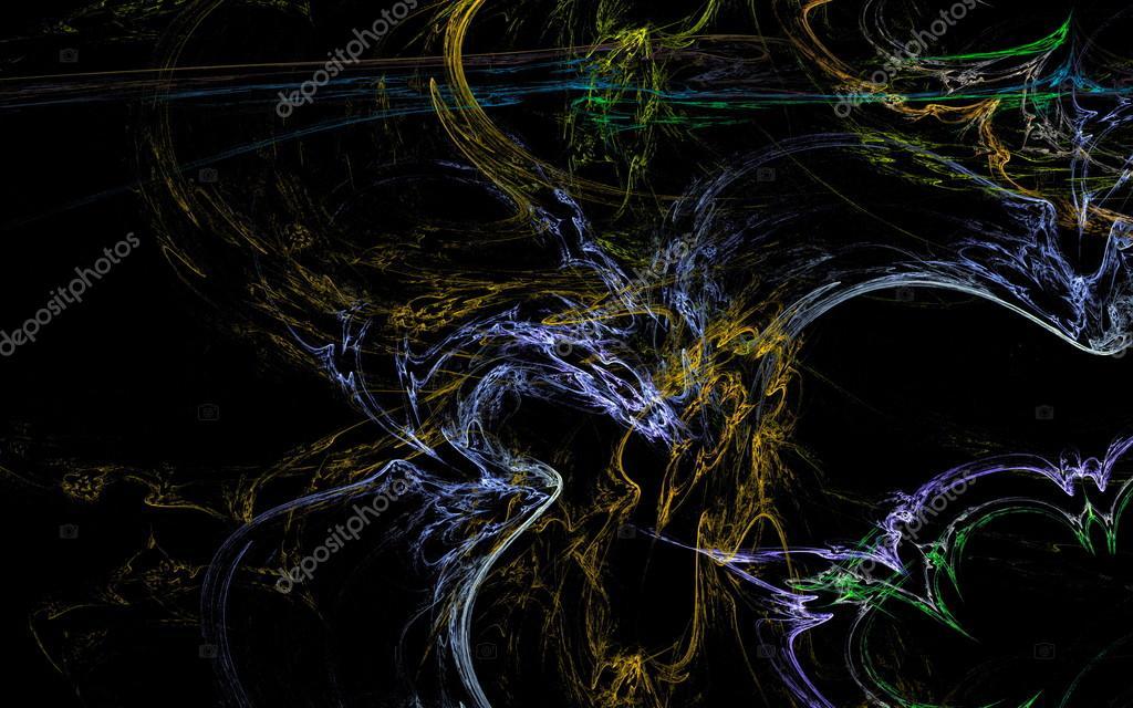 Drago Blu E Giallo Foto Stock Mutant59 125407630