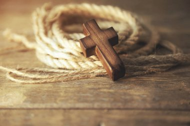 cross and rope