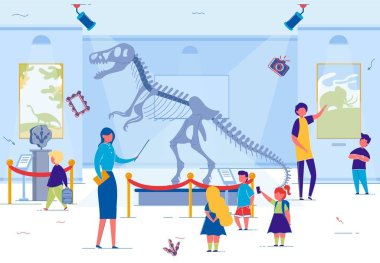 Museum Excursion for School or Preschool Kids.
