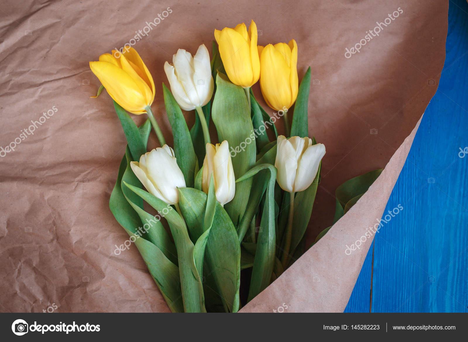 Spring Flowers Bouquet Stock Photo C Helenaak14 145282223