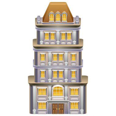 Detailed illustration of building