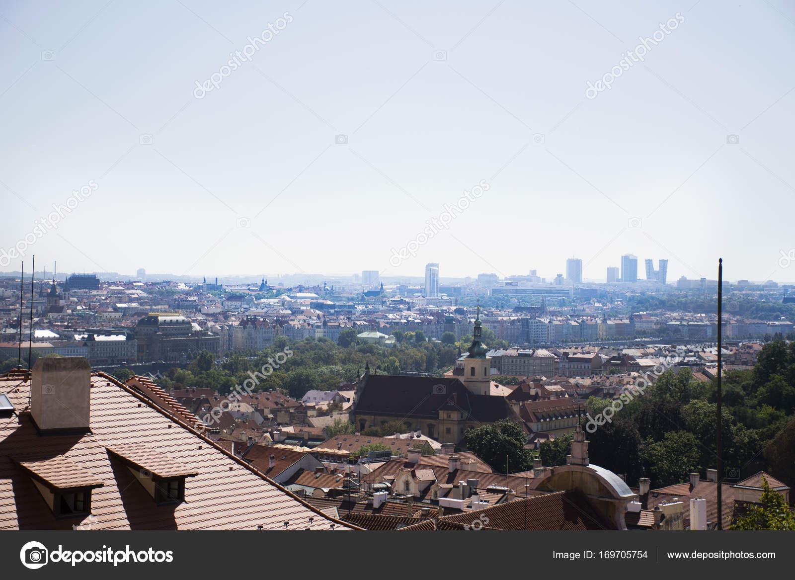 D couvre le paysage urbain et paysage de ville de prague for Paysage de ville