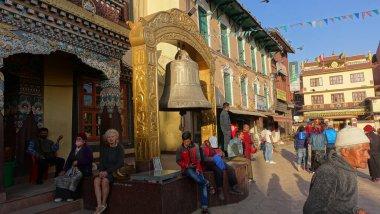 famous monastry in boudha, nepal