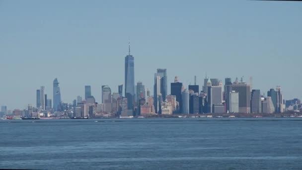 New York City Skyline ze Staten Islandu, NY