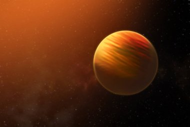 Solar System - Planet Mars. High resolution images presents planets of the solar system. 3d illustration