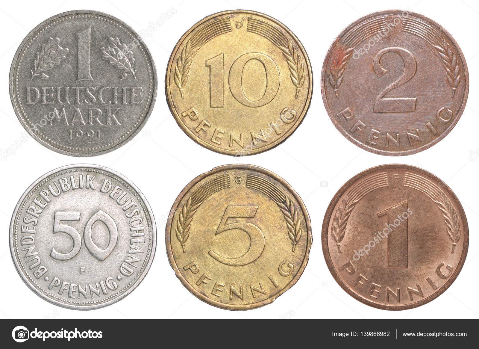 Alte Münze Deutschland Stockfoto Andreylobachev 139866982