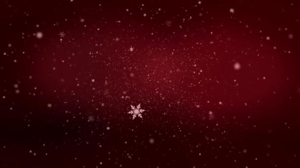 4k animované vánoční pozadí