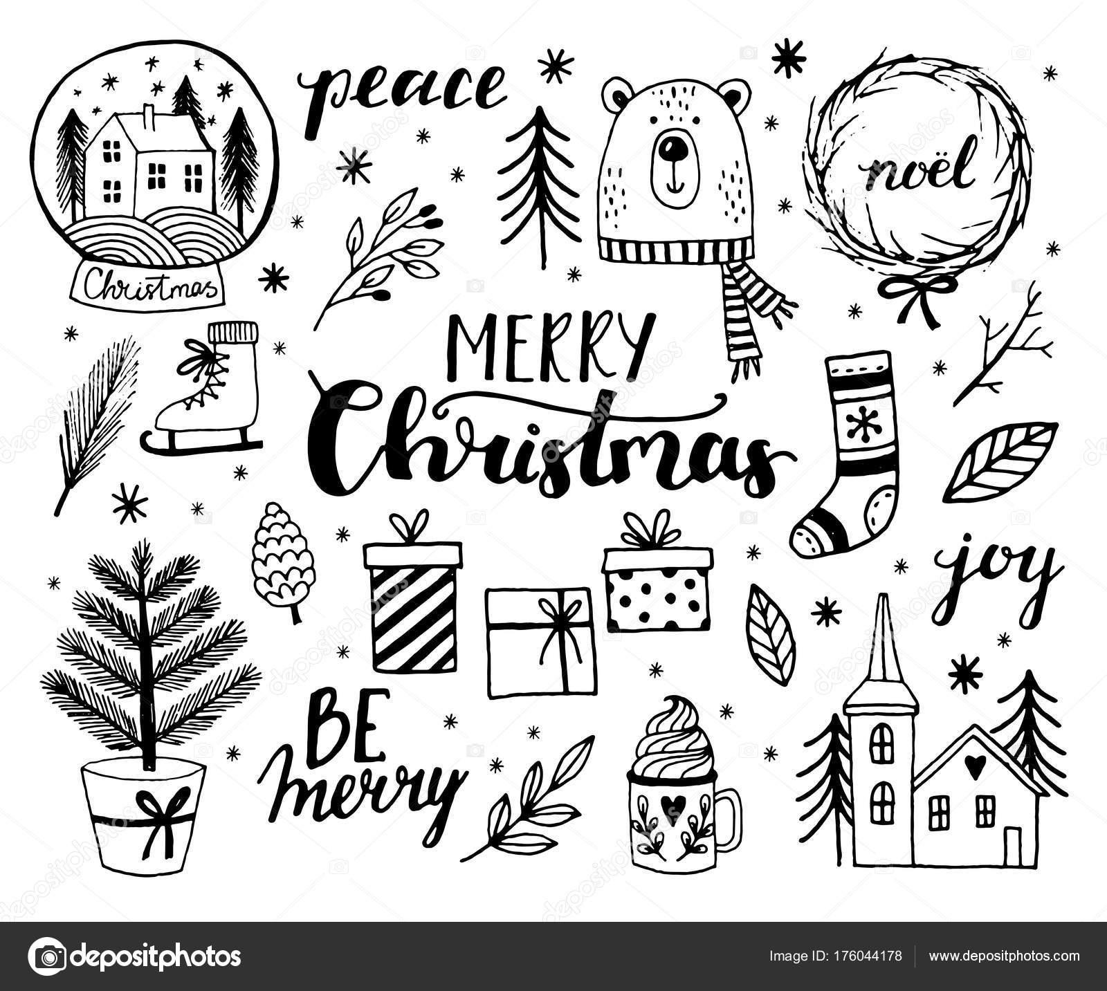 Prettige Kerstdagen En Gelukkig Nieuwjaar Wenskaarten Stockvector C Virina28 176044178