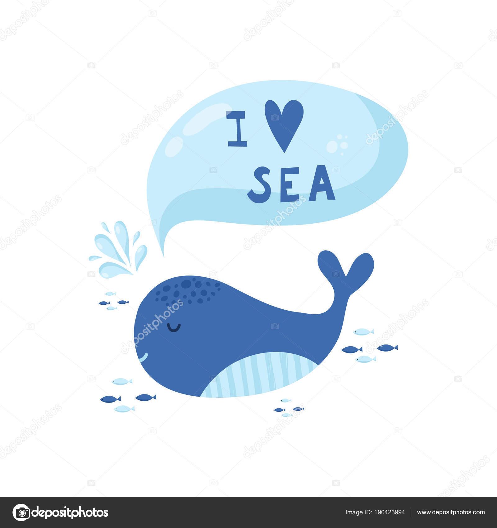 cute creative cards templates with ocean theme design stock