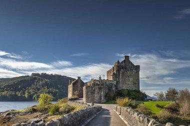 castle of Eilan Donan in the Scottish highlands -  United Kingdo
