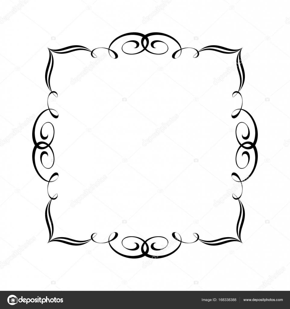 Eleganten Rahmen. Vektor-illustration — Stockvektor © Vlades911 ...