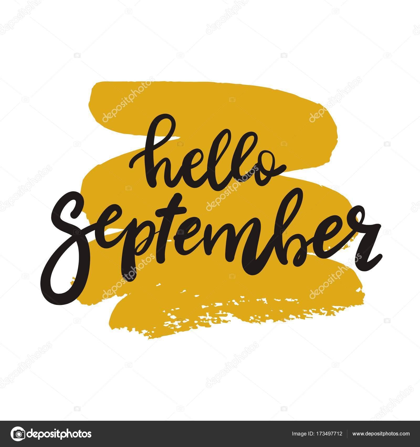 hand written september