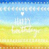 Boldog születésnapot kártya