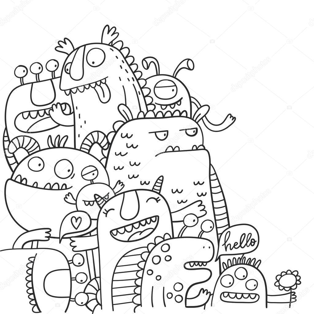 Ungewöhnlich Monster Malvorlagen Ideen - Beispiel Business ...