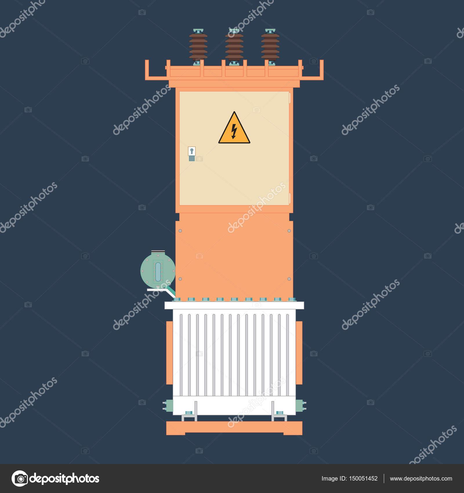 Umspannwerk, industrielle — Stockvektor © Alexandrus1 #150051452