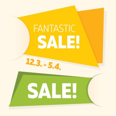 Dynamic sale banners.