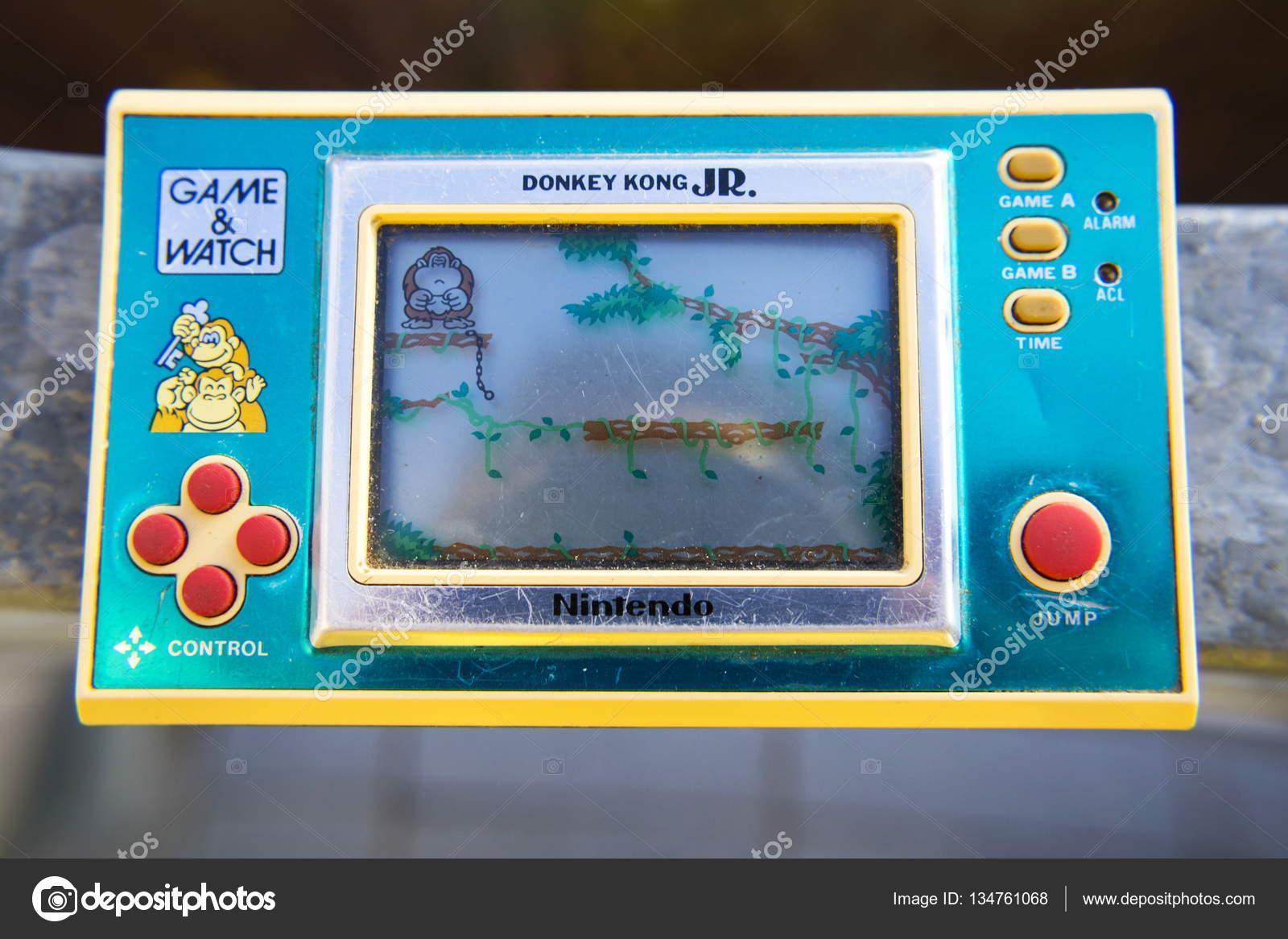 Fotos Donkey Kong Vintage Mano Electronicos Nintendo Juego Donkey