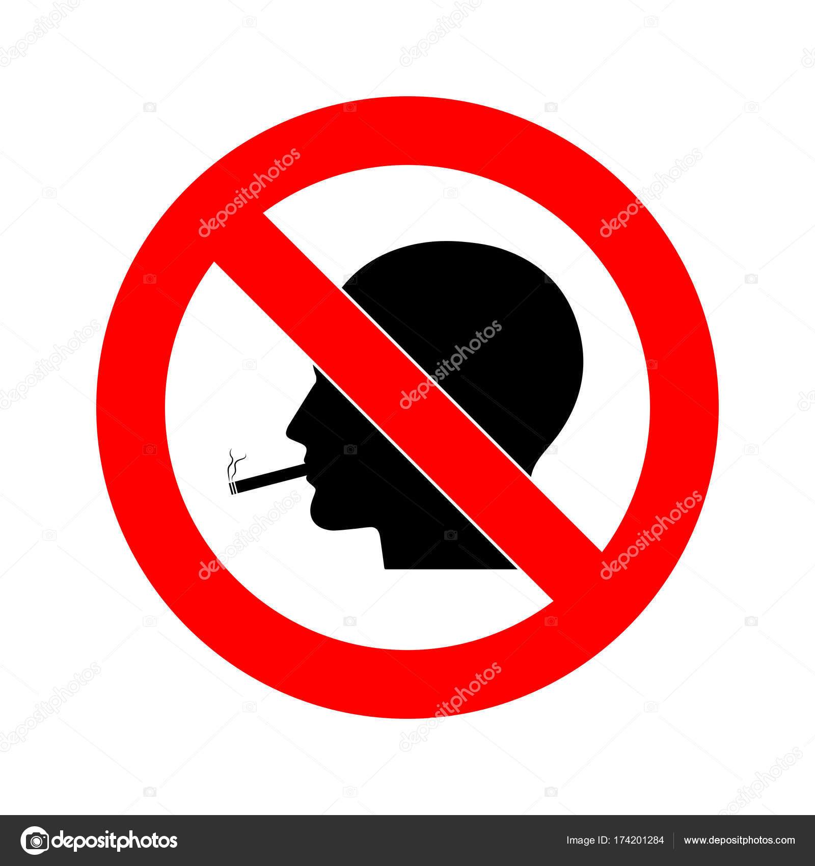 No smoking sign vector accept. The