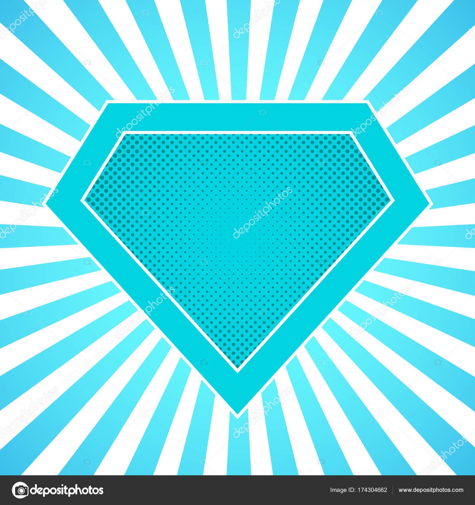 Superhelden-Logo. Vektor-illustration — Stockvektor © chekman1 ...